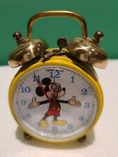 Walt Disney Productions Phinney-Walker Mickey Mouse Alarm Clock