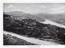 06 LE BROC VUE PANORAMIQUE IMAGE 1908 OLD PRINT