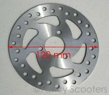 Brake Disc Rotor F (Cross Dia=120mm,Ctr Dia=26mm,) FOR GAS SCOOTER,POCKET BIKES