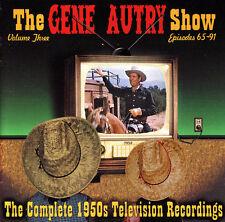 The Gene Autry Show-1954-Vo-3-TV Soundtrack-37 Track-CD