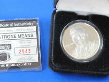 1994 Highland Mint Natrone Means Silver Art Medal E2754