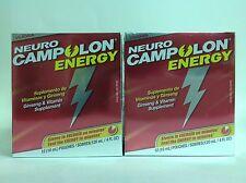 2 NEUROCAMPOLON ENERGY SUPLEMENTO VITAMINICO CON GINSENG / VITAMIN SUPPLEMEMENT