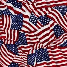Flagge USA Patchworkstoff Stoffe Amerika Patchwork Fahne Stars Stripes Baumwolle