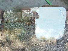 1953-54 Willys Wagon Panel Delivery Aero Pair Right and Left Rear Door Glass