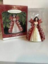 Hallmark Keepsake Ornament Holiday Barbie 1997 Christmas Collector's Series 5th