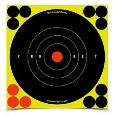 "New Authentic Birchwood Casey Shoot-N-C 6"" Bull's-eye Target - 60 Pack 34550"