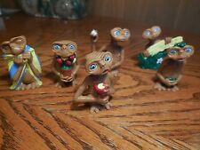 6 E.T. Figures from Universal Studio 2002
