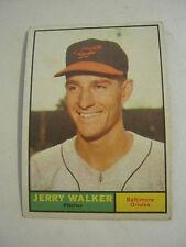 1961 Topps #85 Jerry Walker Baseball Card, Good Cond (GS2-b5)