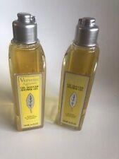 Lot 2 flacons L ́occitane gel douche verveine soit 2x250 ml
