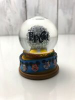 Rare DISNEY WORLD EPCOT SPACESHIP EARTH Miniature SNOW GLOBE Good Used Condition