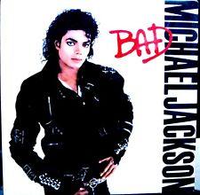 LP - MICHAEL JACKSON - BAD (EDIT IN CANADA,GATEFOLD SLEEVE NEW,STOCK STORE  COPY