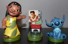 WDCC LILO AND STITCH ELVIS PRESLEY 3 PIECE WALT DISNEY FIGURINE SET w/ COA & BOX