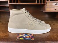 Converse Pro Leather 76 Mens Mid Leather Tan/White Casual Shoes 155648C Sz 10