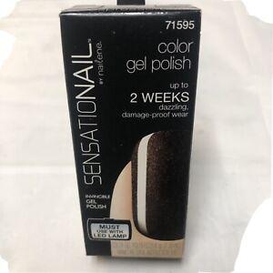Sensational By nailene Color Gel Polish Espresso Bean 71595