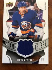 18-19 UD Series 1 Hockey Game Jersey #GJ-EB Jordan Eberle