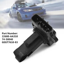 Mass Air Flow Sensor Meter Fit For Subaru Forester Impreza WRX 22680-AA310 Valve