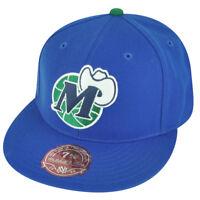 NBA Mitchell Ness TK07  Dallas Mavericks Blue Team Second Fitted Hat Cap
