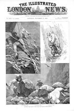 Hunting Wild Goats in the Rocky Mountains  -   by R. Caton Woodville  -   1886