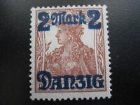 DANZIG GDANSK Mi. #28II rare mint stamp! CV $600.00
