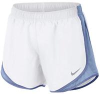 Nike Women's Dri-fit Tempo Track Running Shorts White/Roy Tint/Purp Slate, Small