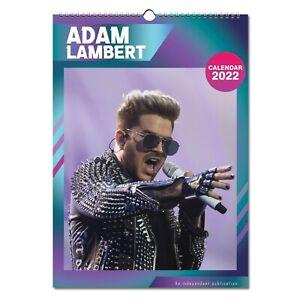Adam Lambert 2022 Wall Calendar NEW A3 Poster Size 12 Months