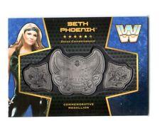 WWE Beth Phoenix 2017 Topps Women's Divas Title Belt Plate Relic Card SN 21 / 25