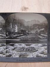 Stereoscope Photograph Mentone France