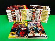 manga Star Comics MY HERO ACADEMIA Seq. 1/20 + 2 poster + 2 segnalibri +Preview