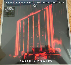 Phillip Boa Earthly Powers Vinyl Limited Collectors Edion Red Vinyl OVP