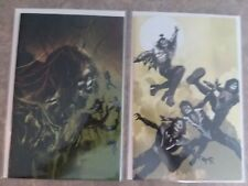 KISS ZOMBIES SET OF 2 VARIANT #1 Sayger Virgin and Arthur Suydam limited  covers