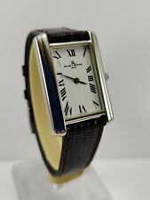 BAUME & MERCIER Tank Vintage Manual Wind Men's Watch ref 1724 Cal. BM 776 Rare