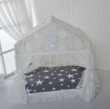 Princess Pet Dog Cat House Tent Sofa Bed Cushion Mat Frame Bed Pillow Handmade