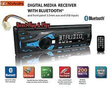 Direct Plug Amp Play Kubota Tractor Radio With Remote Rtv 1100 Rtx 1100c B2650