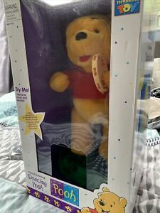 Dancing Pooh Sound Activated Toy NIB