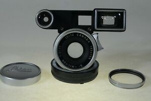 Leitz/ Leica Summicron 35mm F2 lens for M3 and other M cameras, read