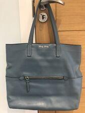 Miu Miu tote bag Shopper Blue Soft Leather VGC