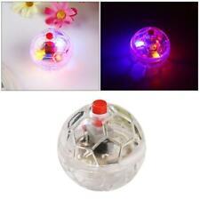 3 Pcs New Glowing Transparent Plastic Ball Pet Training Cat Flash Balls Toys