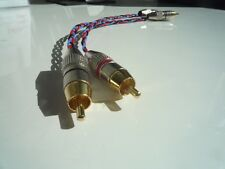 Kimber Kable PBJ stereo RCA NF-Cavo Connettori placcati in oro 0,5m