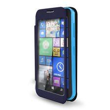 Custodia Flip slim per Nokia Lumia 630, Lumia 630 Dual SIM, Lumia 635, Blu