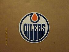 NHL Edmonton Oilers Vintage Circa 1979-80 33/4 Inch Team Logo Hockey Sticker