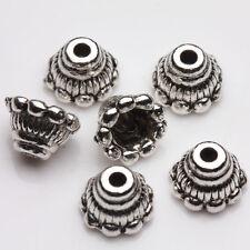 25Pcs Antique Silver Tibet Tibetan Cone Bead End Cap Wholesale Findings 7x5mm