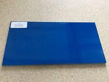 """G10: Azul/Negro 1/4"""" 6"""" X 12"""" hojas de para madera, cuchillo de decisiones, Bush en funcionamiento"""