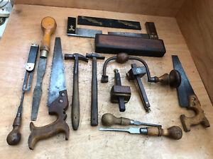 16 x Vintage Carpenters Tools