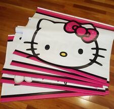 TOYS R US HELLO KITTY VINLY STORE DISPLAY BANNER x 5!!