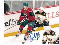 """Charlie Coyle Minnesota Wild Autographed 8"""" x 10"""" Photo W/COA B"""
