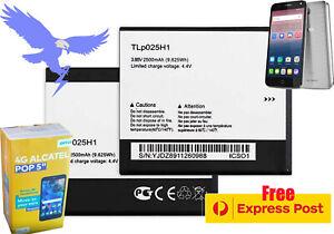 "Battery for Optus 4G Alcatel POP 5"" Alcatel POP 4 - 5051X Free Express TLp025H1"