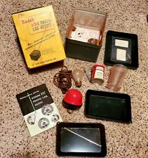 VINTAGE Kodak ABC Photo Lab Outfit Photographic Materials W/ Metal Printing Box