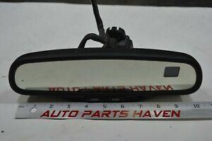 Silverado Tahoe Yukon Compass Temp Dual Display Auto Dim Rear View Mirror Airbag