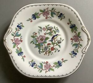 "Aynsley Pembroke Pattern Bone China Cake / Bread Plate, 1st Quality 101/2""x91/4"""