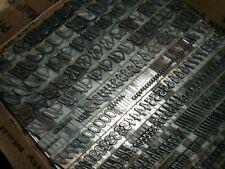 Antique 30pt Grayda C1939 Letterpress Foundry Type Printing Printer Vintage 2
